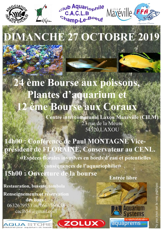 Bourse Champ le Boeuf (Laxou) 27 octobre 2019  Affich25