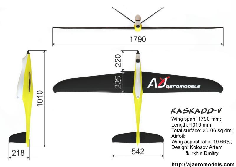 KASKADD-V de AJ Aeromodels 40012010