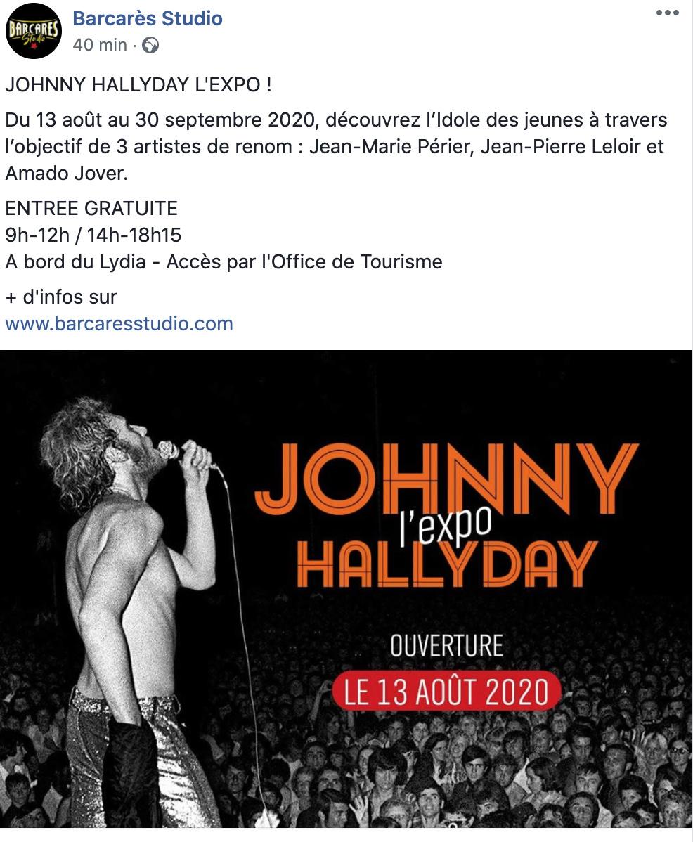 Concert de Johnny le 09 Aout 2020 Le Barcares  Captur12