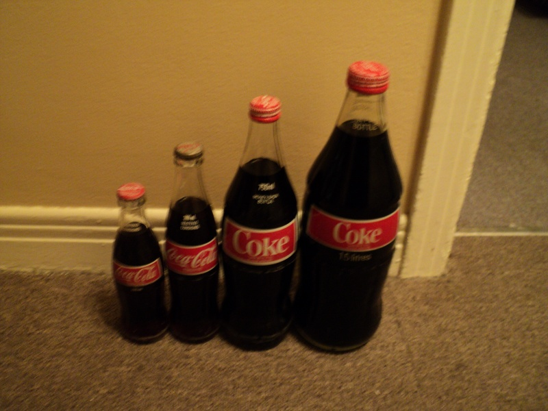 coca cola 1.5 750 ml 300 ml 200 ml pleine Dsc01913
