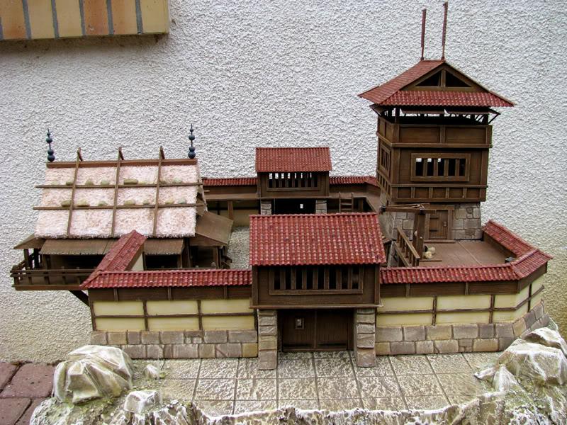 Village japonais et inspirations pour des châteaux Chatea12