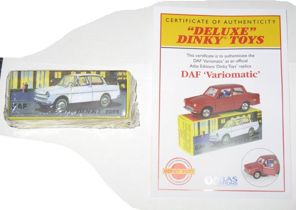 DAF deux modèles Daf-de10
