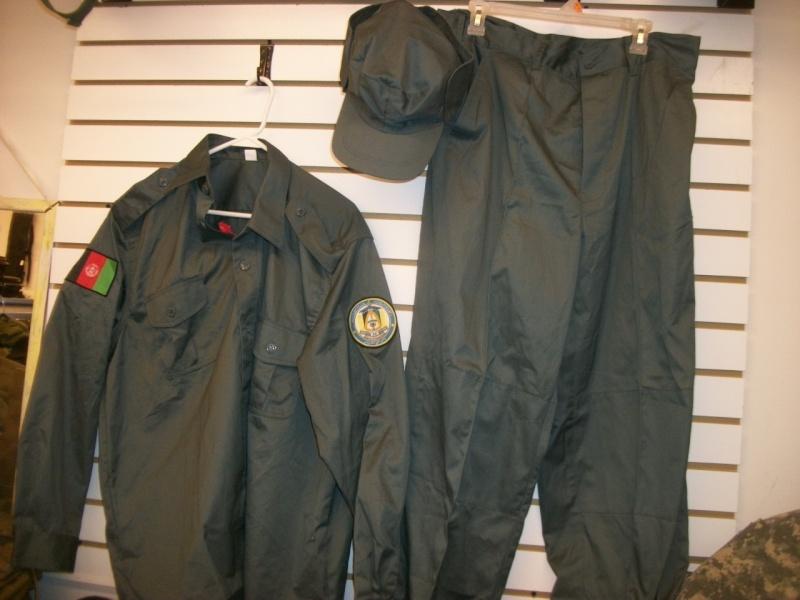 Afghan Police Uniform w/ Cap 100_9938