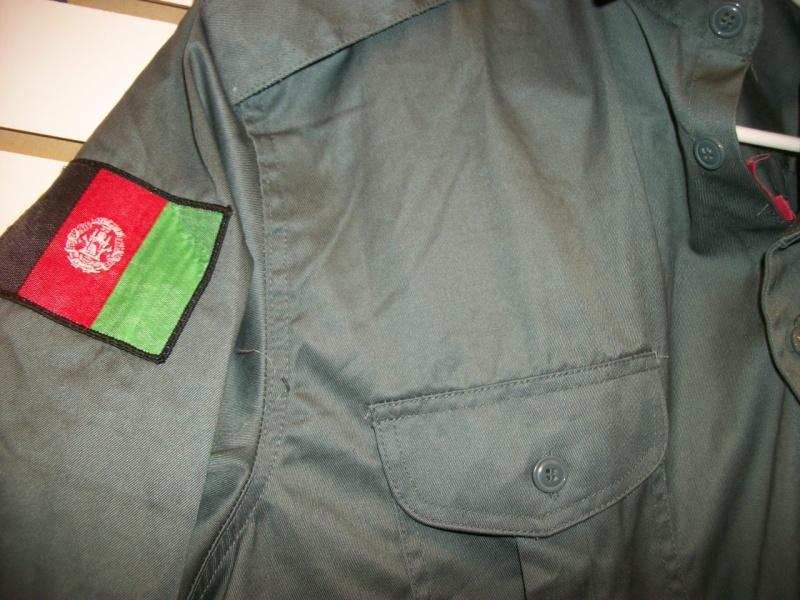Afghan Police Uniform w/ Cap 100_9940