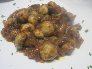 champignons à la sauce tomate.photos. Champi11