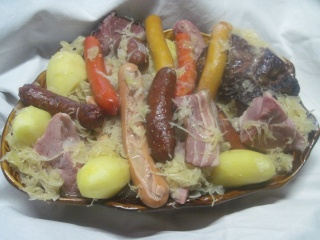 choucroute d'Alsace maison,photos. Copie_10