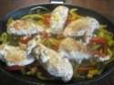 blanc de poulet aux poivrons,vert,rouge,jaune.photos. Blanc_19