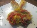 blanc de poulet aux poivrons,vert,rouge,jaune.photos. Blanc_20
