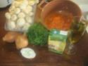 champignons à la sauce tomate.photos. Champi12