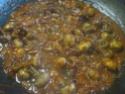 champignons à la sauce tomate.photos. Champi21