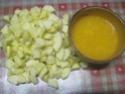 compote de pommes et oranges au micro-ondes.photos. Compot12