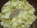 compote de pommes et oranges au micro-ondes.photos. Compot13