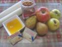 tourte aux pommes,poires,et speculoos.photos. Tourte11