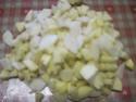 tourte aux pommes,poires,et speculoos.photos. Tourte13