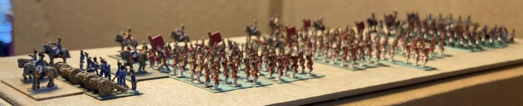 I° Empire : 9° Division du II° Corps d'Armée de 1812 regroupant les 4 Régiments Suisses + le Bataillon Valaisan + 2 Régiments Suisses au service de l'Espagne faits prisonniers à Baylen (Au 1/300°). 10-310