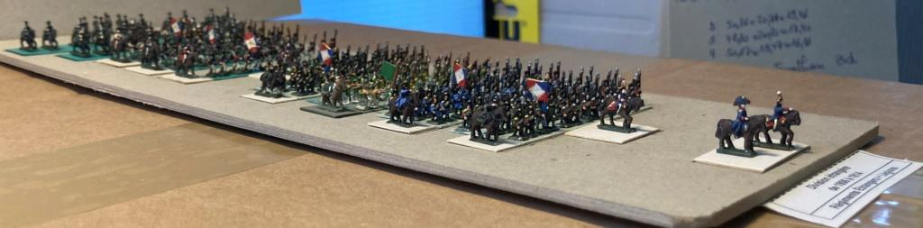 I° Empire : Division regroupant 1 Brigade de 4 Régiments étrangers au Service de France + 1 Brigade de 3 Légions au Service de France (Au 1/300°). 11-210