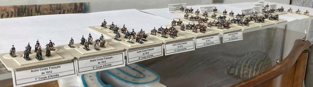 I° Empire : ÉTATS-MAJORS DES CORPS DE LA GRANDE ARMÉE POUR LA CAMPAGNE DE RUSSIE EN 1812 (Au 1/300°). 12-310