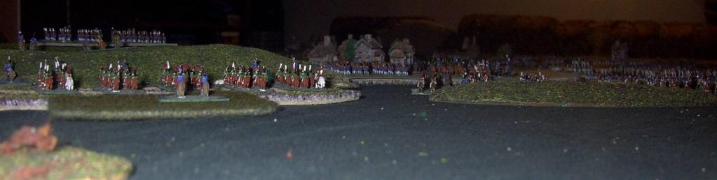 """8 février 1807 : Table-Diorama """"simpliste"""" au 1/300° pour rejouer la bataille d'EYLAU.  1813"""
