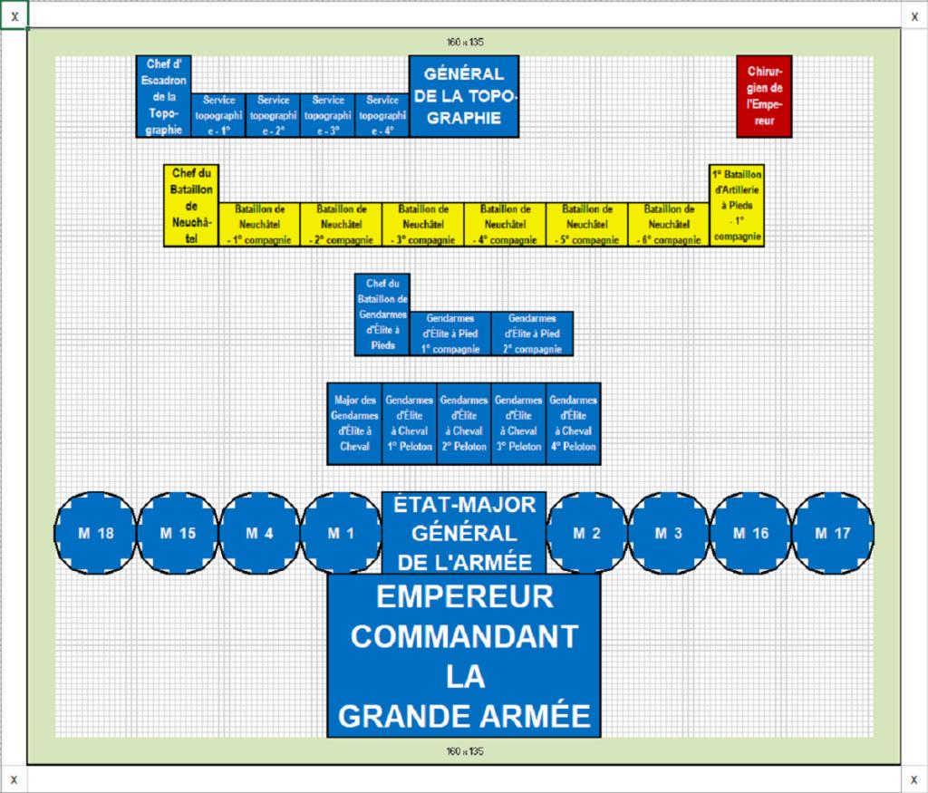 I° Empire : État-Major Général de ma Grande Armée de NAPOLÉON I°. 1_zota11