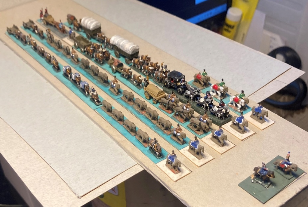 Premier Empire : Division des Équipages de NAPOLÉON Ier (au 1/300 = figurines de 6 mm). 2-3-im10