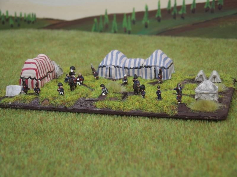 1° Exposition virtuelle de JackNap1948 : L'État-Major Général à pieds de ma Grande Armée de NAPOLÉON I° (au 1/300° = figurines de 6 mm). 2_dscf10
