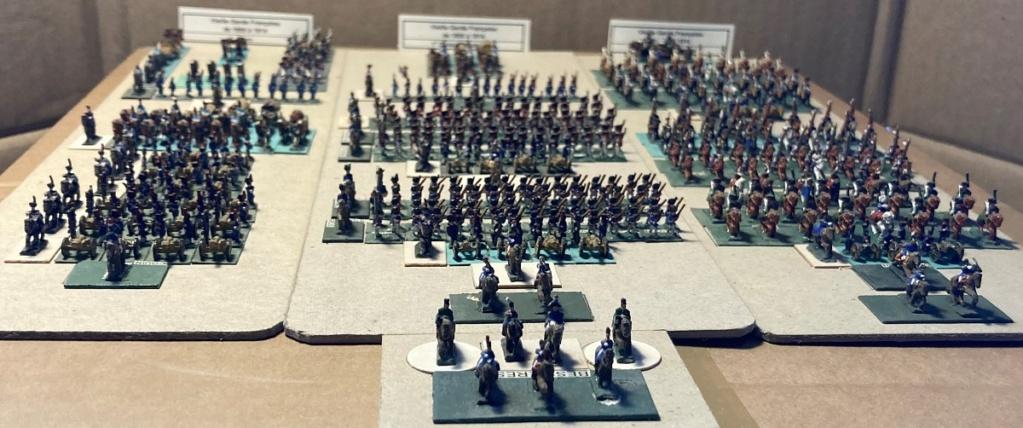 I° Empire : Le Corps de la Vieille Garde Impériale de NAPOLÉON I° (au 1/300°). 3-1_im10