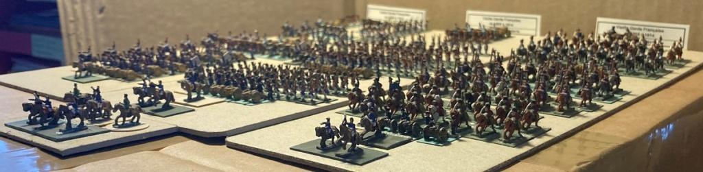 I° Empire : Le Corps de la Vieille Garde Impériale de NAPOLÉON I° (au 1/300°). 3-3_im10