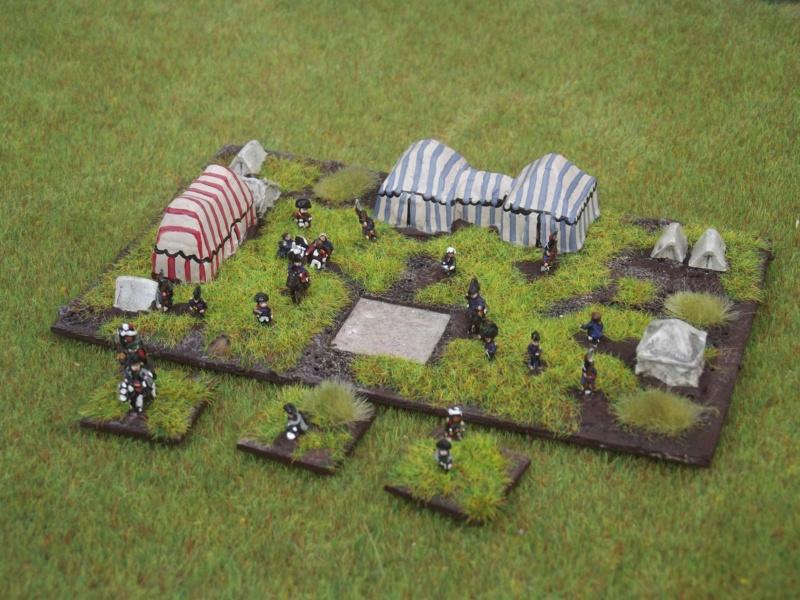 1° Exposition virtuelle de JackNap1948 : L'État-Major Général à pieds de ma Grande Armée de NAPOLÉON I° (au 1/300° = figurines de 6 mm). 4_dscf10