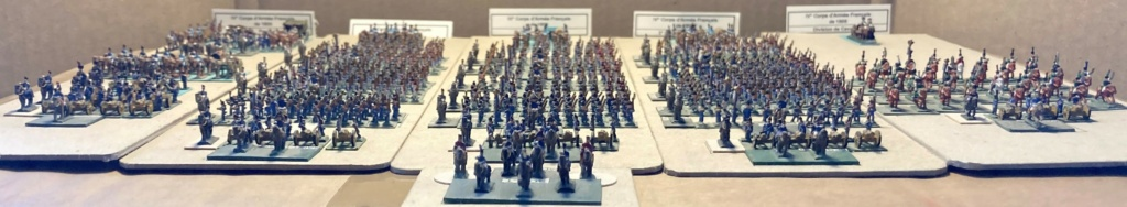 I° Empire : Le IV° Corps d'Armée de SOULT à AUSTERLITZ en 1805 (Au 1/300°). 5-2-im10