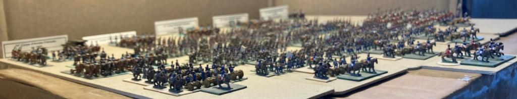 I° Empire : Le IV° Corps d'Armée de SOULT à AUSTERLITZ en 1805 (Au 1/300°). 5-3-im10