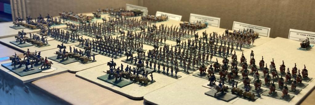 I° Empire : Le IV° Corps d'Armée de SOULT à AUSTERLITZ en 1805 (Au 1/300°). 5-4-im10