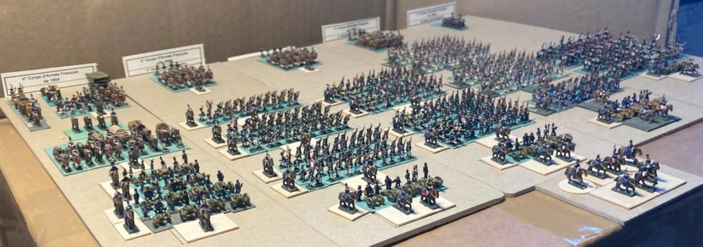 I° Empire : Le V° Corps du Maréchal LANNES à AUSTERLTZ en 1805 (au 1/300°). 6-3-im10