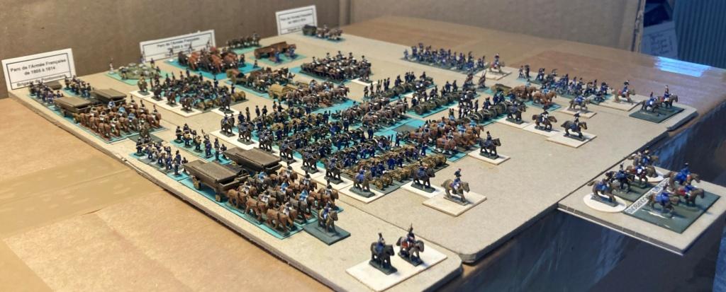 I° Empire : Parc de la Grande Armée 1805 / 1812 (au 1/300°) 8-3-im10