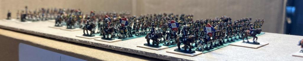 I° Empire : Division regroupant 1 Brigade de Dragons à pieds [1803/1806] + 1 Brigade de la Garde Municipale de PARIS [1802/1812] + le 93° Régiment d'Infanterie [1812] (Au 1/300°). 9-210