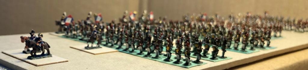 I° Empire : Division regroupant 1 Brigade de Dragons à pieds [1803/1806] + 1 Brigade de la Garde Municipale de PARIS [1802/1812] + le 93° Régiment d'Infanterie [1812] (Au 1/300°). 9-310