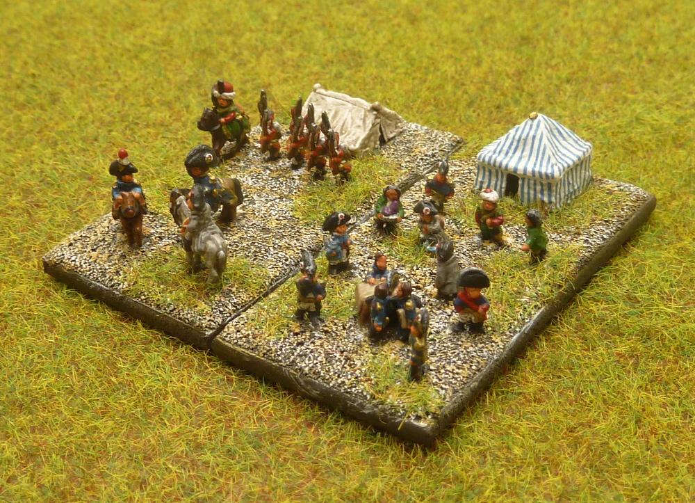 État-Major Général de mon Armée Française du I° Empire au 1/300° [ HEROICS AND ROS ]. Baccus11