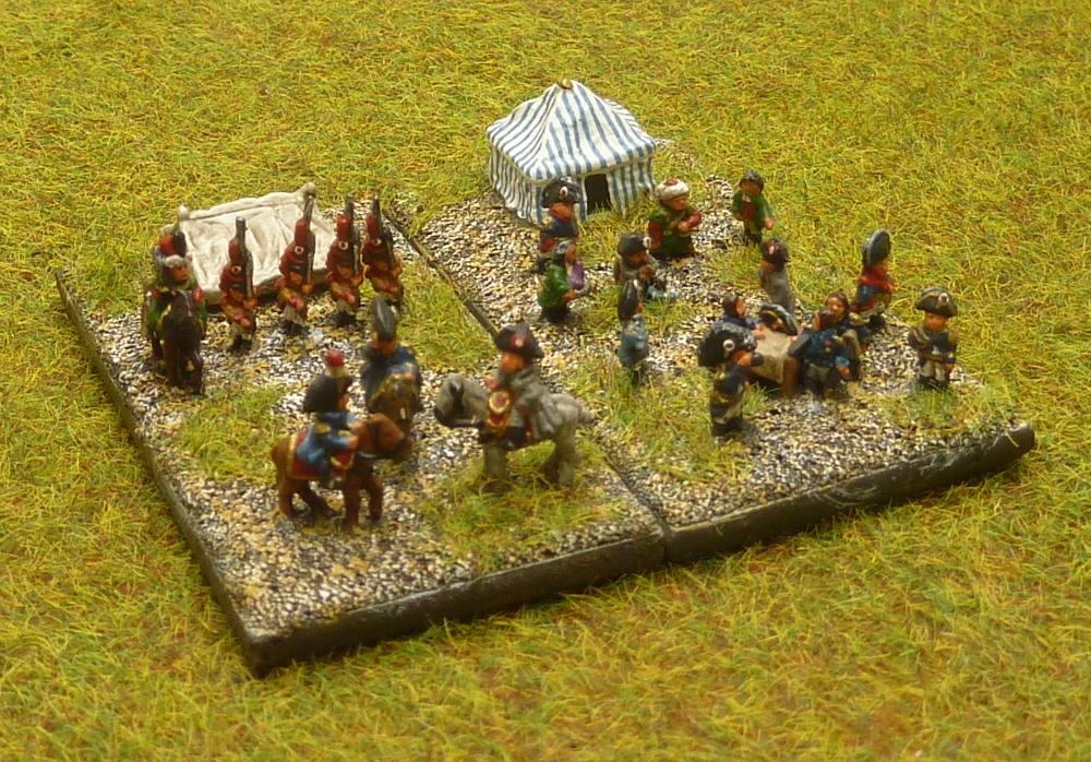 État-Major Général de mon Armée Française du I° Empire au 1/300° [ HEROICS AND ROS ]. Baccus12