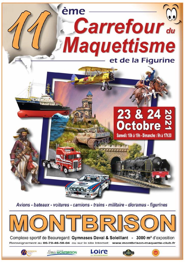 (10) - Octobre 2021 : 23 et 24 : Exposition de Maquettisme à MONTBRISSON 42600. Expo-m10