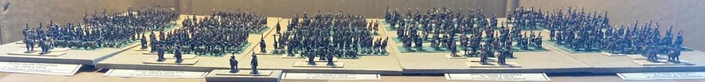 I° Empire ; Le Corps des Moyenne et Jeune Gardes Impériales de NAPOLÉON I° (Au 1/300°). Img_0612