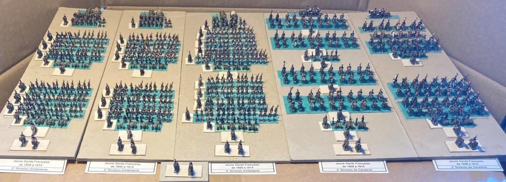 I° Empire ; Le Corps des Moyenne et Jeune Gardes Impériales de NAPOLÉON I° (Au 1/300°). Img_0616