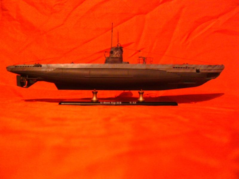 U-Boot Typ II B / U 23, Revell 1:144 Pict0055