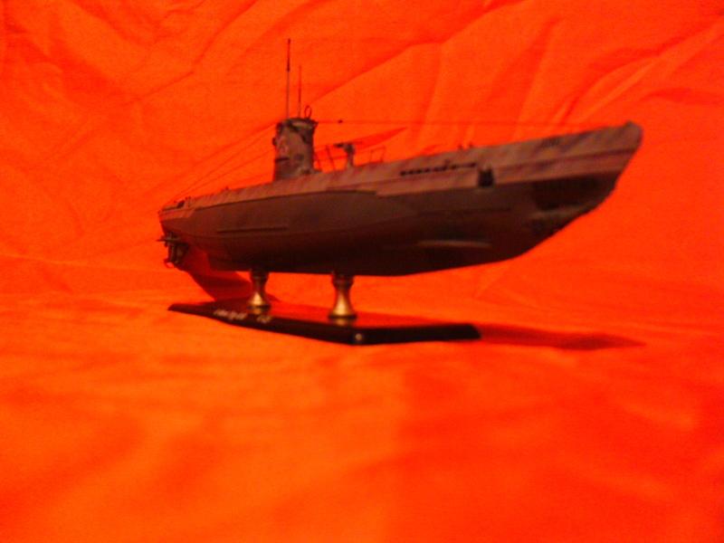 U-Boot Typ II B / U 23, Revell 1:144 Pict0056