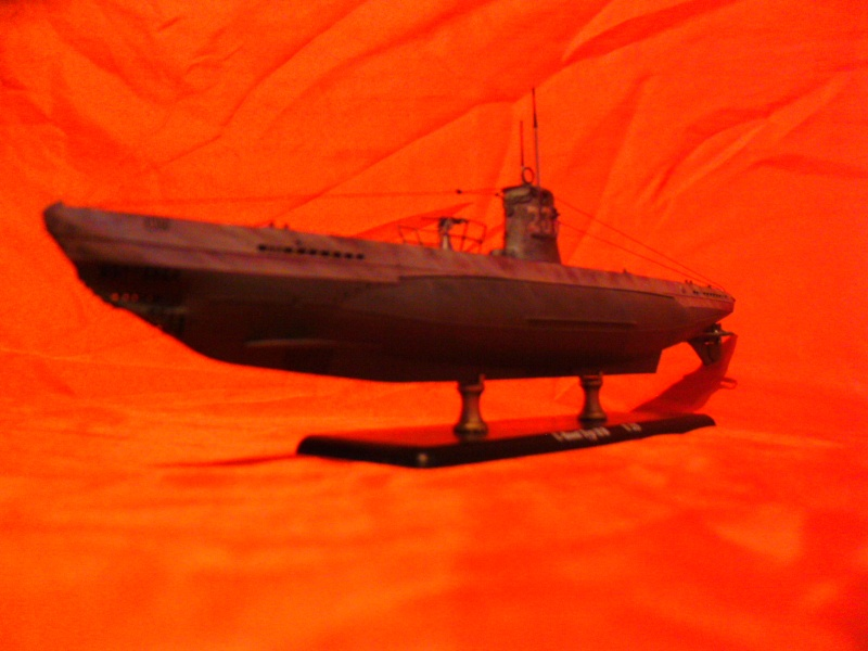 U-Boot Typ II B / U 23, Revell 1:144 Pict0057