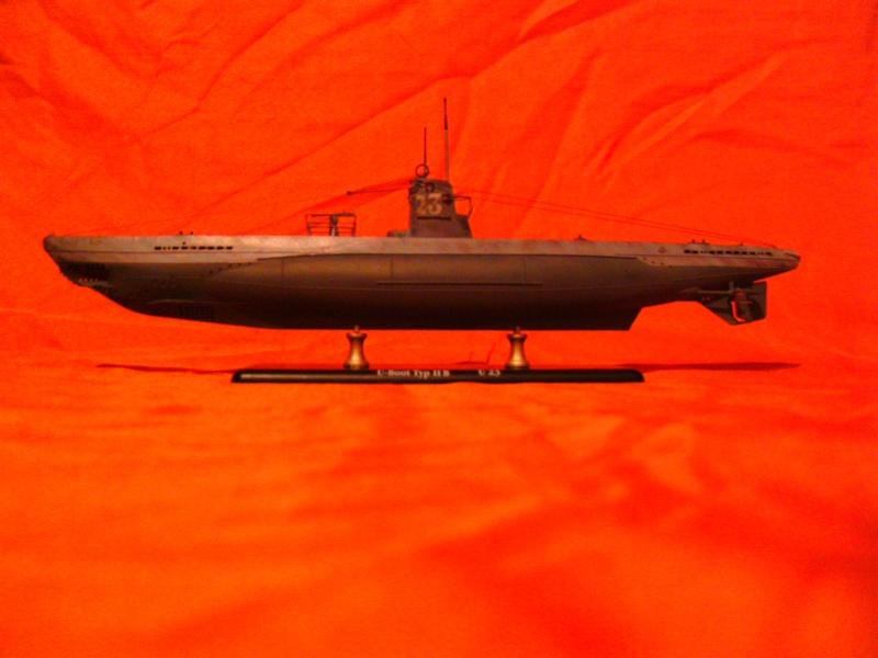 U-Boot Typ II B / U 23, Revell 1:144 Pict0058