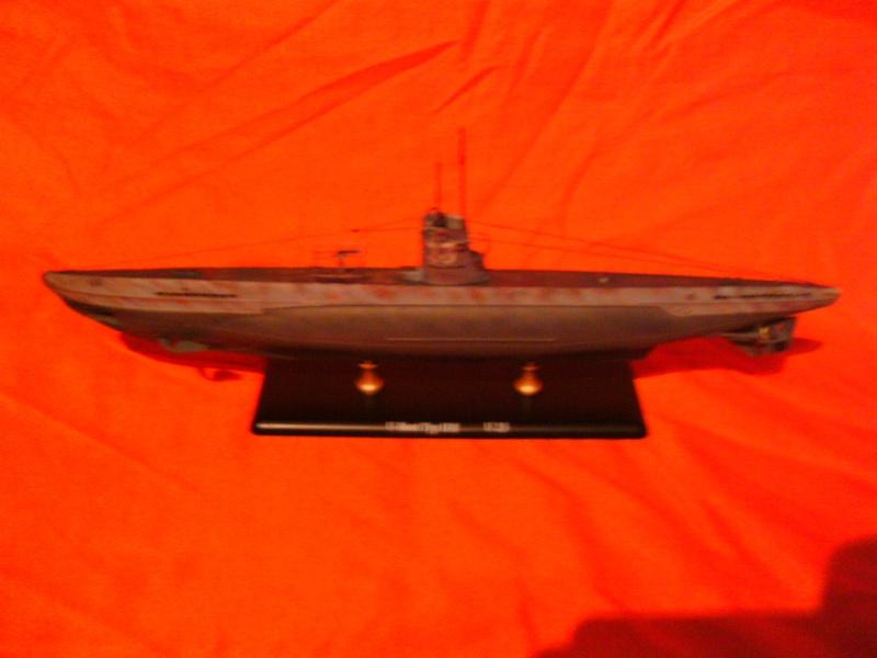 U-Boot Typ II B / U 23, Revell 1:144 Pict0059