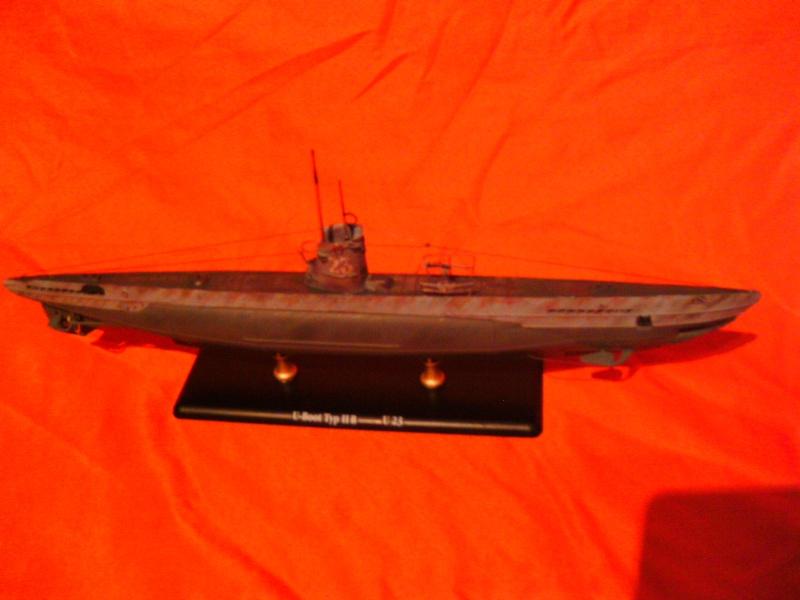 U-Boot Typ II B / U 23, Revell 1:144 Pict0060
