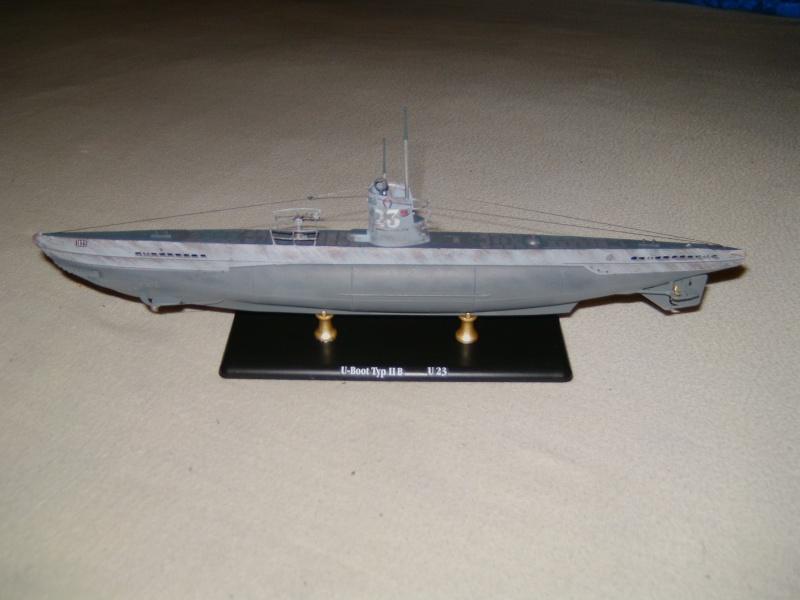 U-Boot Typ II B / U 23, Revell 1:144 Pict0062