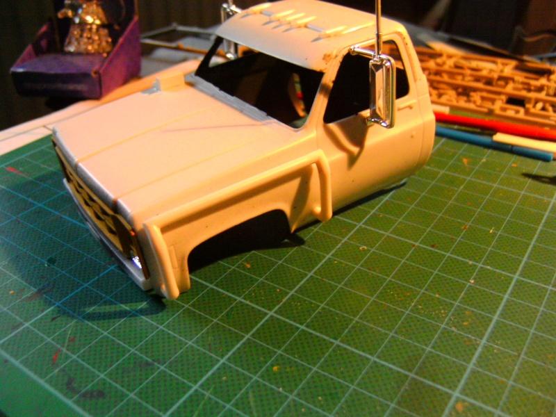 `77 GMC Umbau Truck von Revell in 1:25 Pict0127