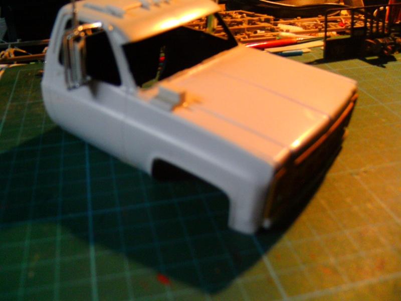 `77 GMC Umbau Truck von Revell in 1:25 Pict0128