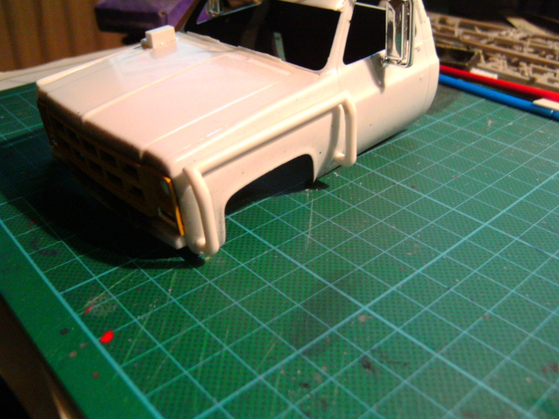 `77 GMC Umbau Truck von Revell in 1:25 Pict0140